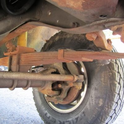 Need Help While Replacing Truck Leaf Springs