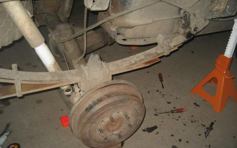How to Leaf Spring Replacement